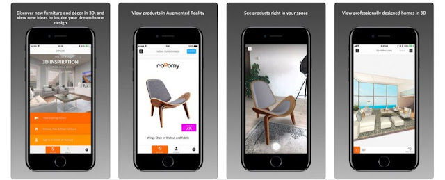 rooomy home design app