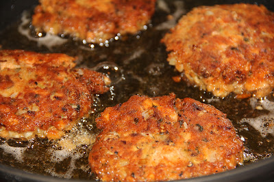 Deep south dish salmon patties though the standard sides for salmon patties are often creamed mashed or fried potatoes and creamed green peas i often serve these as a main dish with a ccuart Choice Image