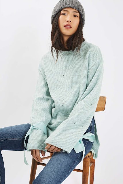 blue mohair jumper