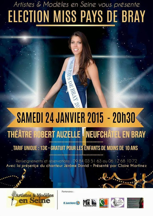 Election Miss Pays de Bray 2015
