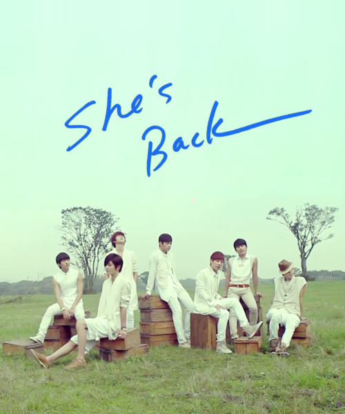 "Special From Me Kiss  Infinite ""she's Back"" Romanji"