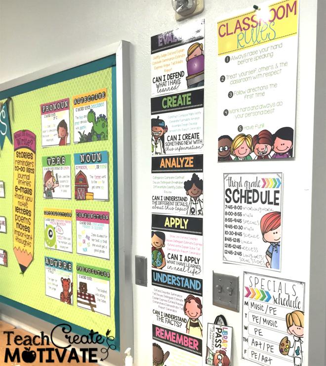 My Classroom Reveal! - Teach Create Motivate