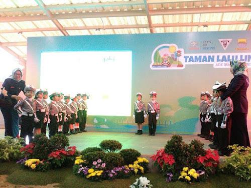 Peresmian Taman Lalu Lintas Bandung