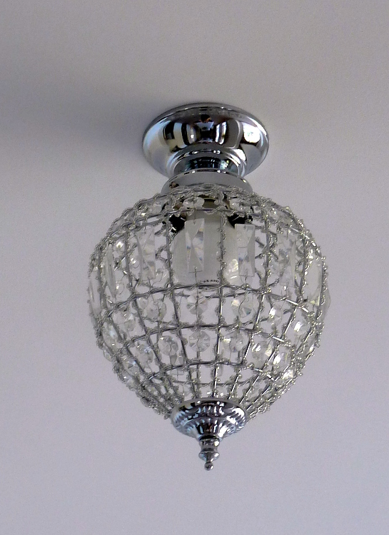 Stylish Settings: DIY Light Fittings - A Quick Makeover