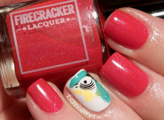 Firecracker Lacquer - Parrot Procession