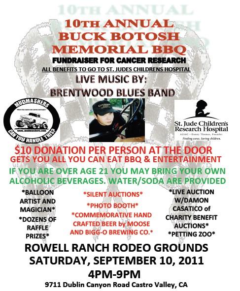 Mudmashers 4wheel Drive Club Buck Botosh Memorial Bbq And