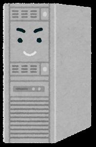 サーバのキャラクターのイラスト(ノーマル)