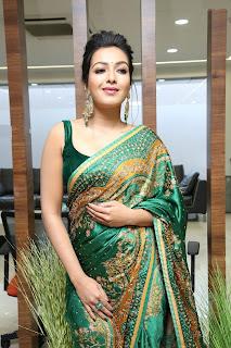 Actress Catherine Tresa Stills at Bazaar Hyderabad Launch at Putlibowli