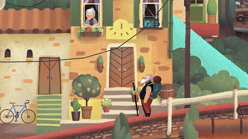 Old Man's Journey Story