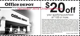 free Home Depot coupons december 2016