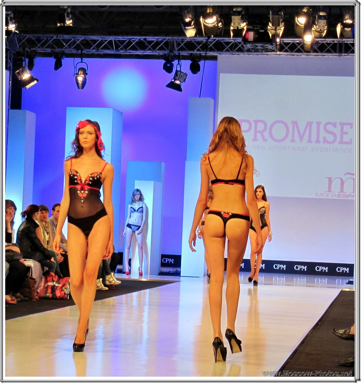 CPM Collection Premiere Moscow  - Promise Lingerie Fashion Show