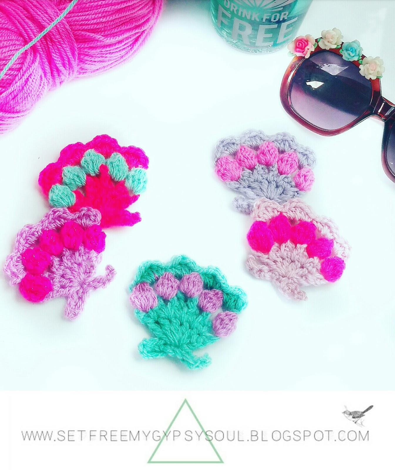 Set Free My Gypsy Soul A Crochet Craft Blog Mermaid Pastel Sea