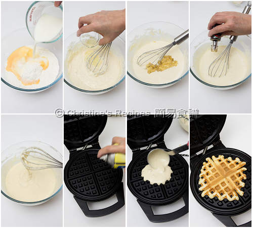 How To Make Banana Waffles02