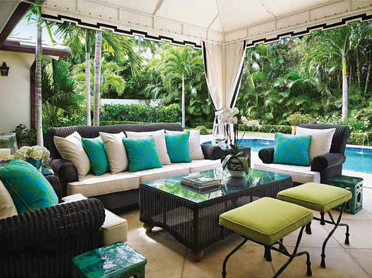 The Glam Pad Inside A Palm Beach Bermuda Style Bungalow