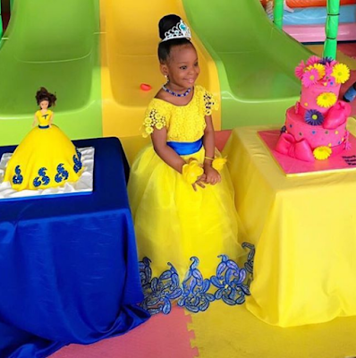 Check out this adorable photo of Chacha Eke's daughter in her birthday dress (here)
