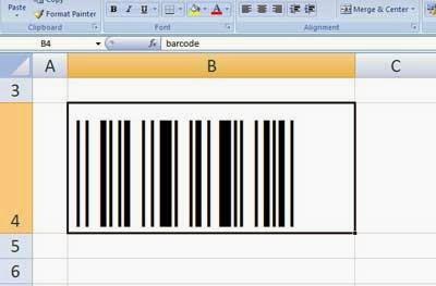 cara menciptakan barcode dengan memakai microsoft excel Cara Membuat Barcode dengan Microsoft Excel
