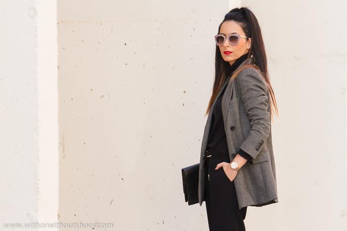 BLogger d  moda estilo belleza española de Valencia con coleta