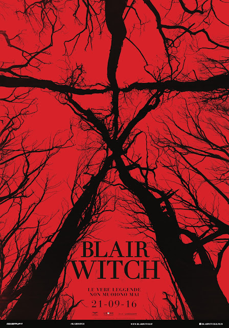 Blair Witch Poster Ita