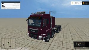 MAN TGS 41570 8×8 Heavy Duty Agricultural truck (v 3.0)