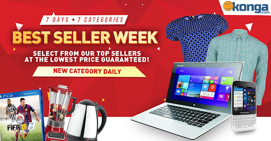 Get the Best of Everything in the Best Sellers Week