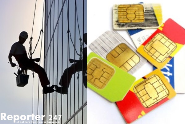 Cleaner Caught With 103 Stolen SIM Cards, 13 Policemen