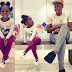 Aww Uche Ogbodo & Daughter Pose In New Photos
