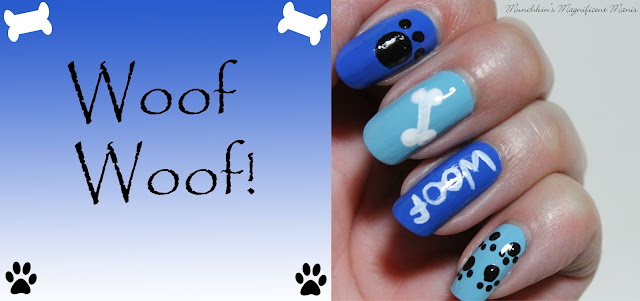 Puppy Nail Design