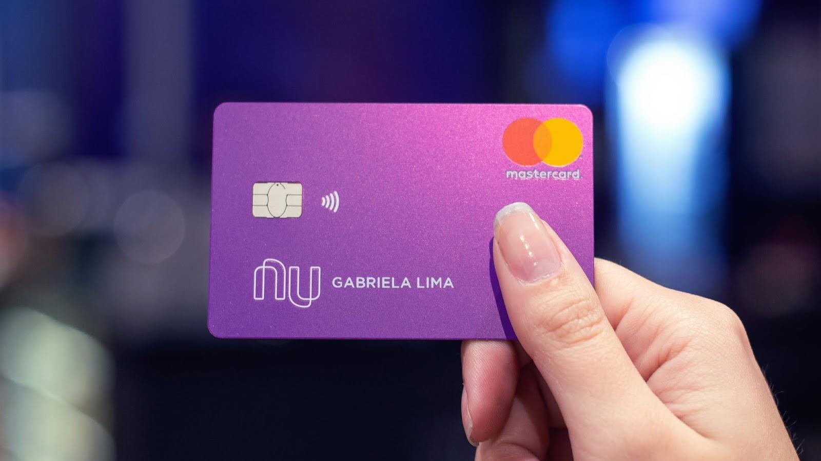 cartão contactless nubank