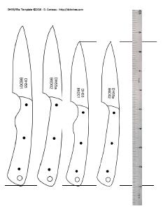 DIY Knifemaker's Info Center: Knife Patterns IV