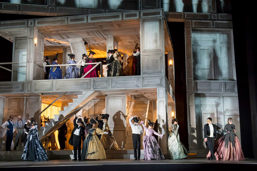 Act 1 finale from Don Giovanni at Covent Garden - picture ROH