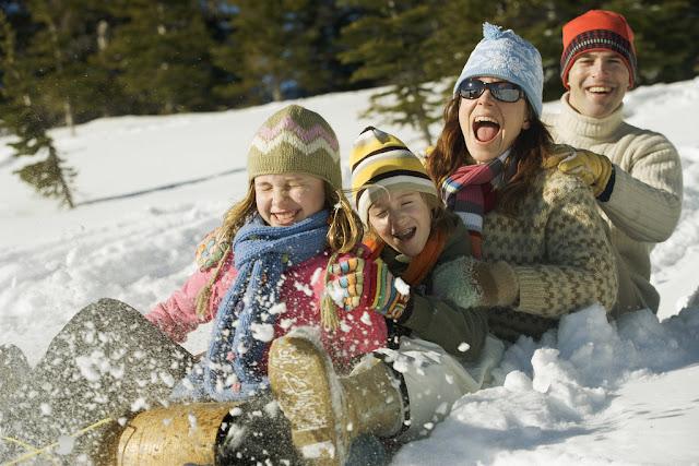 Nieve en familia