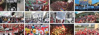 Milhares de manifestantes saem às ruas em todos os estados e DF contra o impeachment