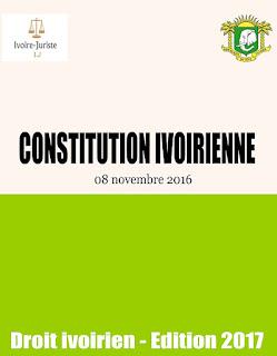 La nouvelle constitution ivoirienne (8 novembre 2016)