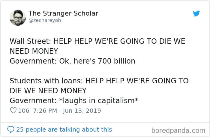 30 Shocking Posts About How The Student Debt System Affects People's Lives