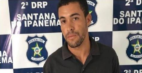 Polícia Civil prende em  Santana do Ipanema  jovem que assassinou ex-namorada em Pernambuco