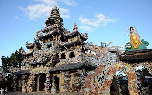 для пагода линь фуок вьетнам ипотечных центров строителей
