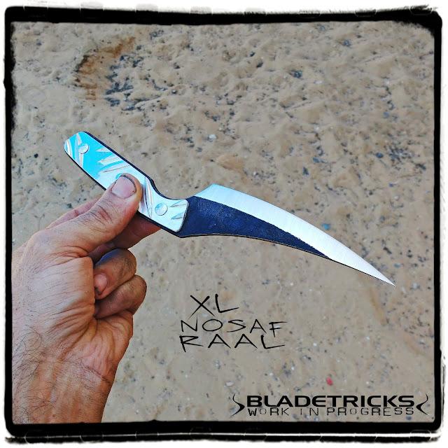 Bladetricks fighter knife chisel grind
