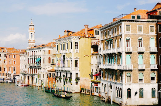 the overwhelming visual beauty of venice
