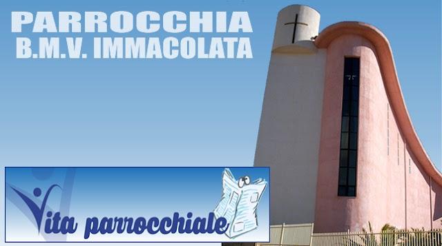 PARROCCHIA B.M.V. IMMACOLATA - Avvisi parrocchiali dal 16 al 22 Aprile 2018