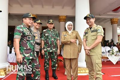 Plt Bupati Trenggalek Hadiri Penutupan Latsitarda Nusantara XXXIX di Gedung Negara Grahadi