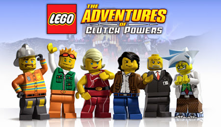 Poster Of Lego The Adventures of Clutch Powers (2010) Full Movie Hindi Dubbed Free Download Watch Online At worldfree4u.com