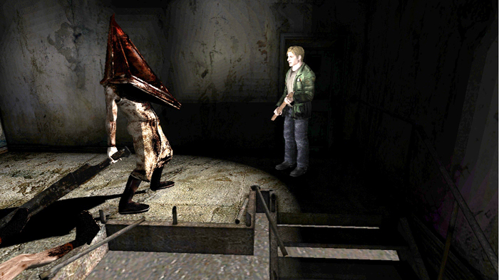 Silent Hill 2 pyramid head - Silent Hill 2 Directors Cut PC