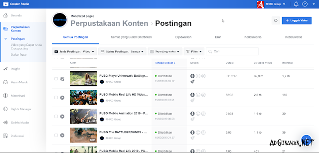 Optimasi Konten Video Halaman Facebook