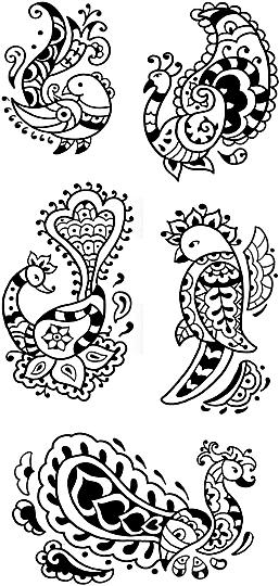 Henna Animal Designs Henna By Heather Tattoo Style Designs