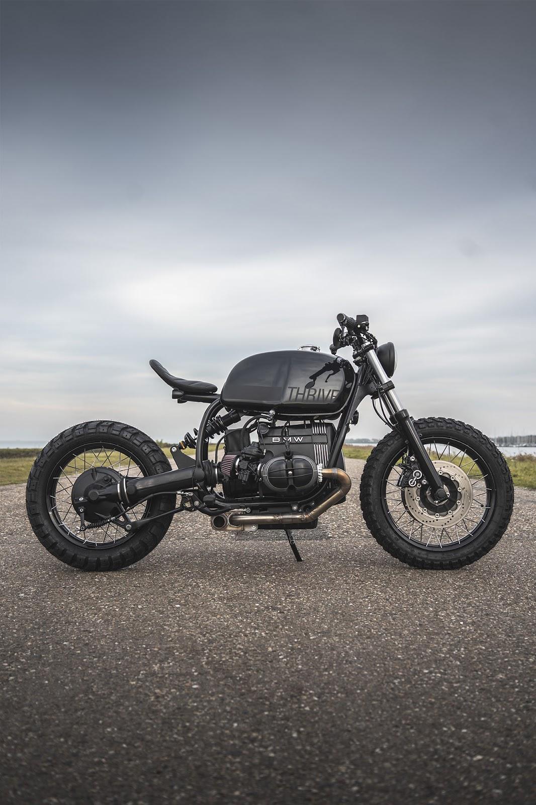 Ironwood Custom's 'The Interpreter' BMW R100R Scrambler