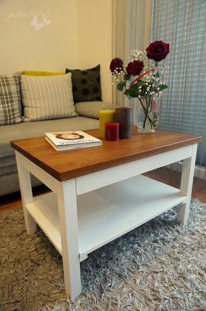 stolik w stylu skandynawskim
