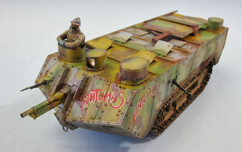 char Saint Chamond - French heavy tank - early - TAKOM ... - Meteociel Saint Chamond