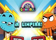A Limpiar con Gumball juego