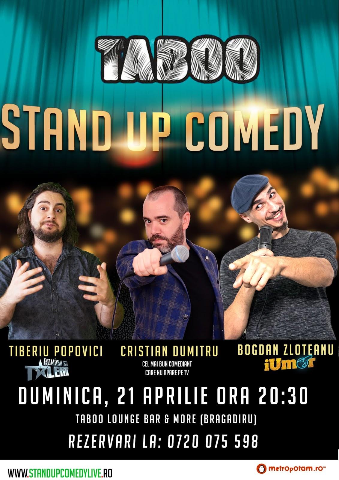 Stand-Up Comedy Bragadiru Duminica 21 Aprilie 2019