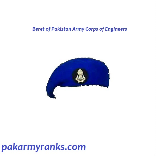 Pak Army Engineers Corps Beret